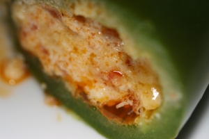 up close jalapeno popper