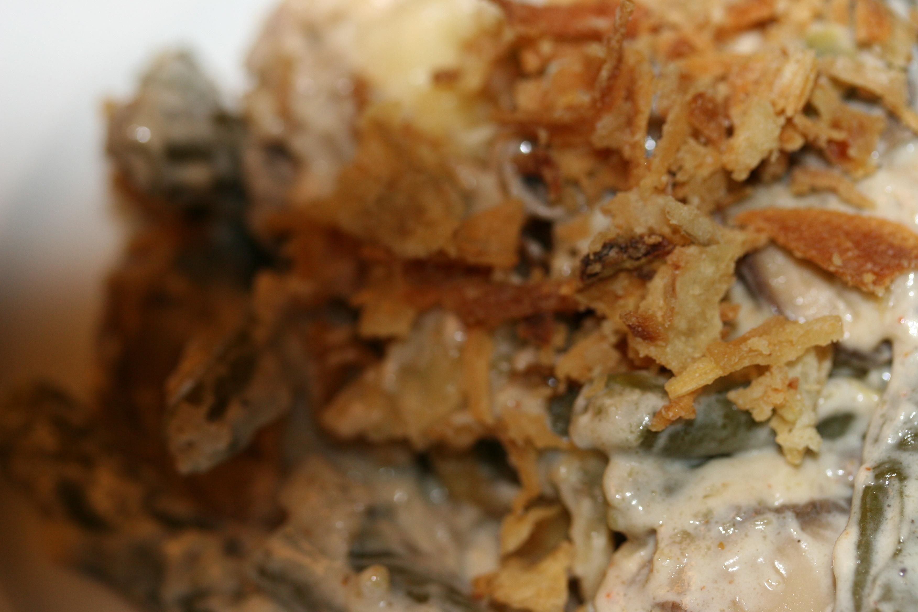 Green Bean And Mushroom Poutine Recipe — Dishmaps